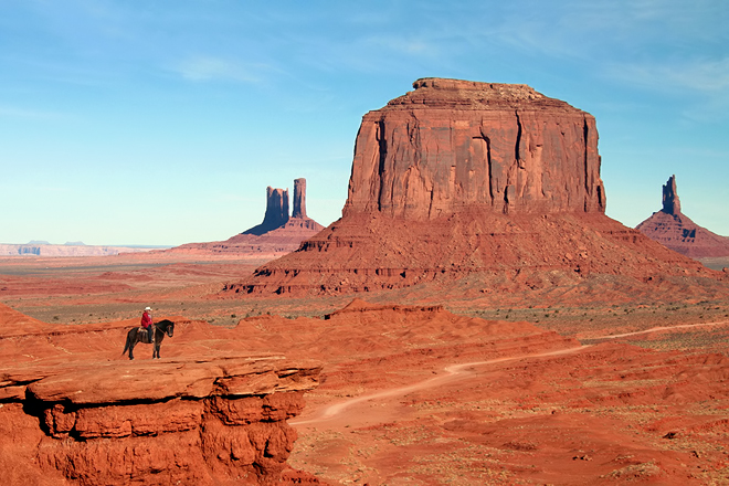 Monument Valley ~ Utah ~ USA ~ 24 decembre 2005