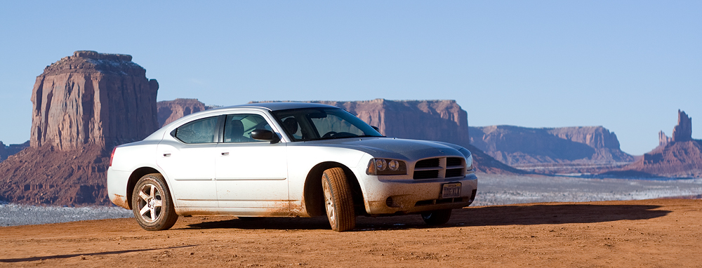 Dodge Charger - Monument Valley - USA
